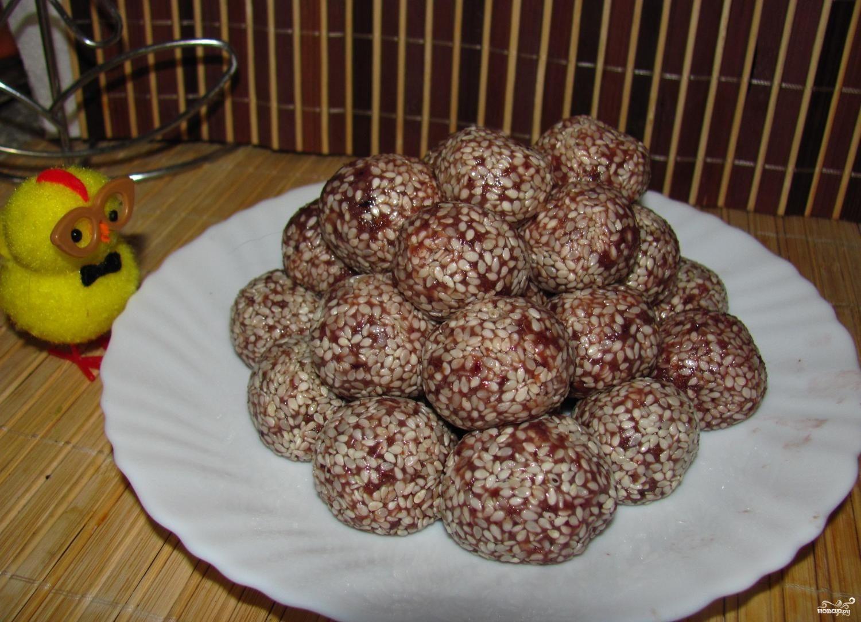Сыроедческие конфеты