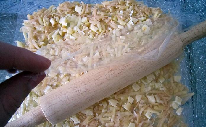 Грибы с фаршем и картошкой - фото шаг 2