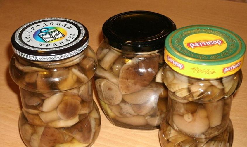 Закатка грибов на зиму - фото шаг 7