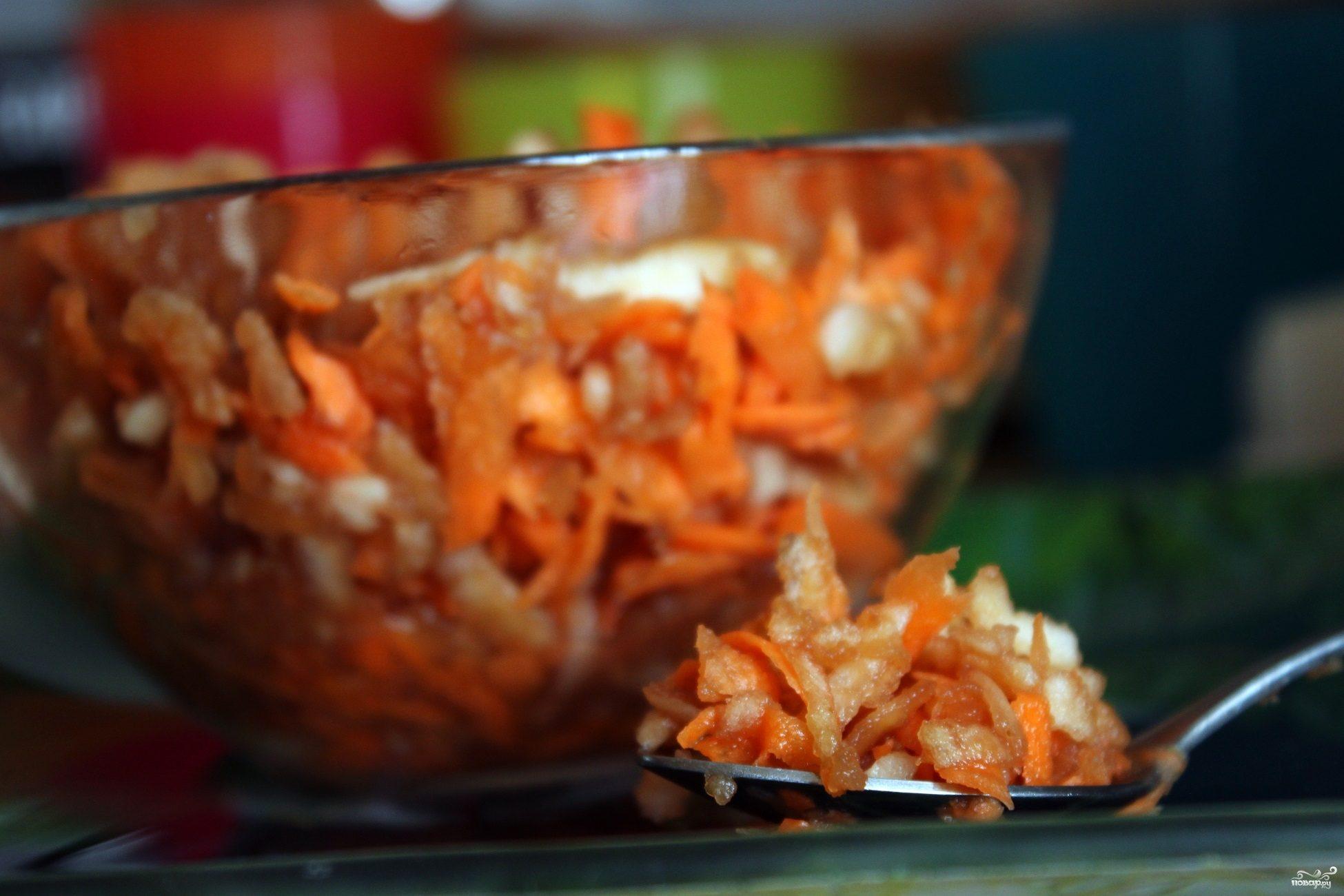 """Салат """"Любовь морковь"""""""