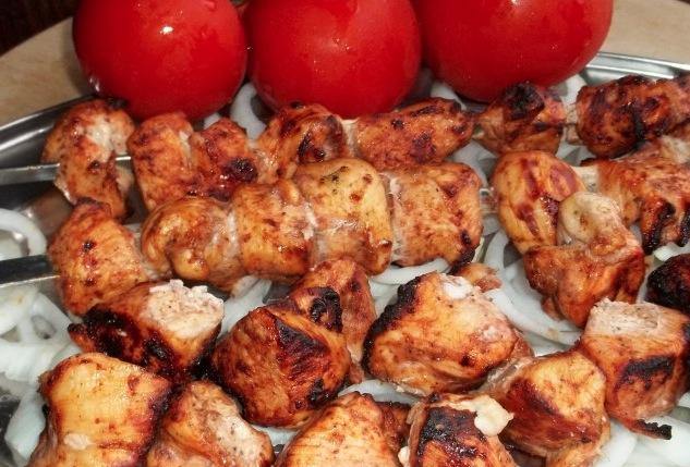 Шашлык из курицы по-грузински - фото шаг 5
