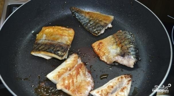 Как вкусно приготовить скумбрия на сковороде рецепт с