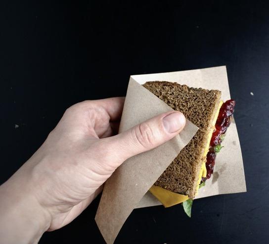 Сэндвич с индейкой - фото шаг 3