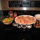 Рецепт Куриные грудки с томатным соусом