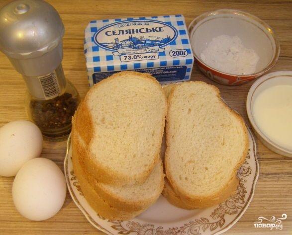 Рецепт Гренки из батона