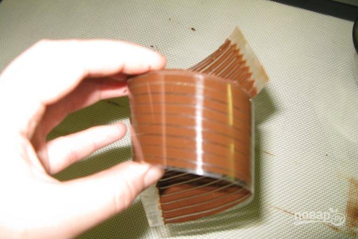 Шоколадная глазурь из шоколада в домашних условиях рецепт 1