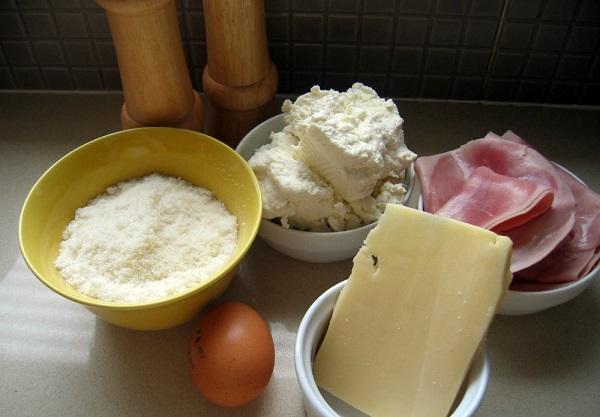 Рецепт Каннеллони с ветчиной и сыром