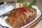 Мясо с грушей в духовке