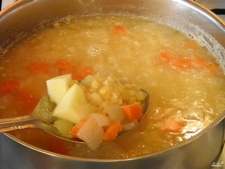 Как сделать гороховый суп пюре