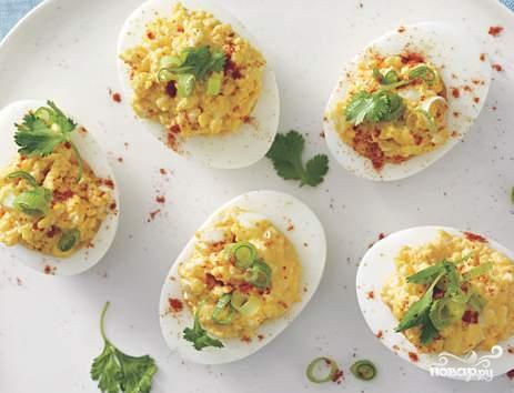 Яйца по-мексикански