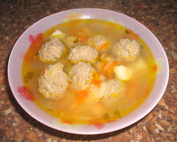 Как приготовить гороховый суп с фрикадельками пошаговый рецепт с с