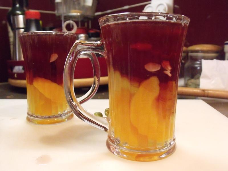 Желе из консервированных персиков - фото шаг 7