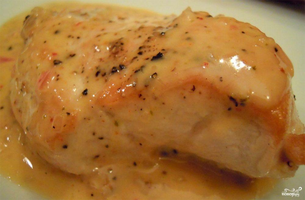 Куриные грудки в соусе рецепт пошаговый с
