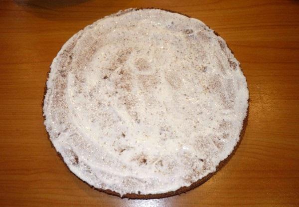 """Торт """"Вулкан"""" - фото шаг 9"""