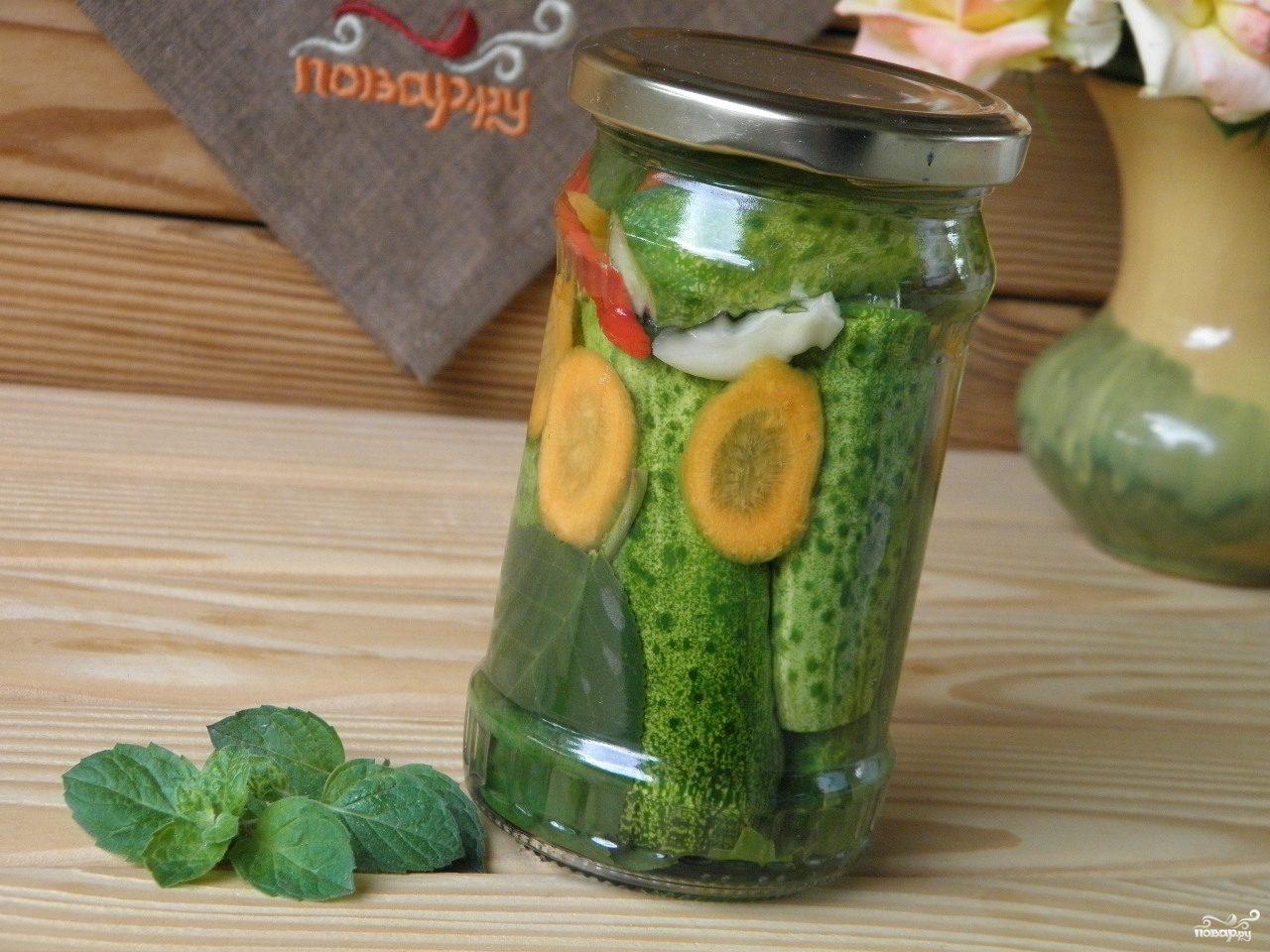 салаты огурцов рецепты с лимонной кислотой