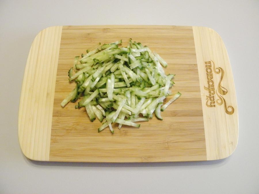 Салат из капусты - фото шаг 3
