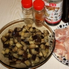 Рецепт Курица с баклажанами
