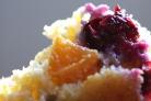 Маффины с черникой и абрикосами