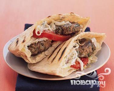 Рецепт Бургеры с бараниной по-гречески