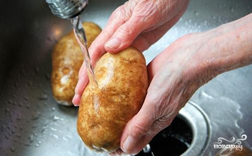 Картошка в мундире - фото шаг 1
