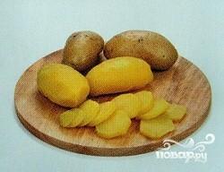 Картофель с брынзой - фото шаг 2