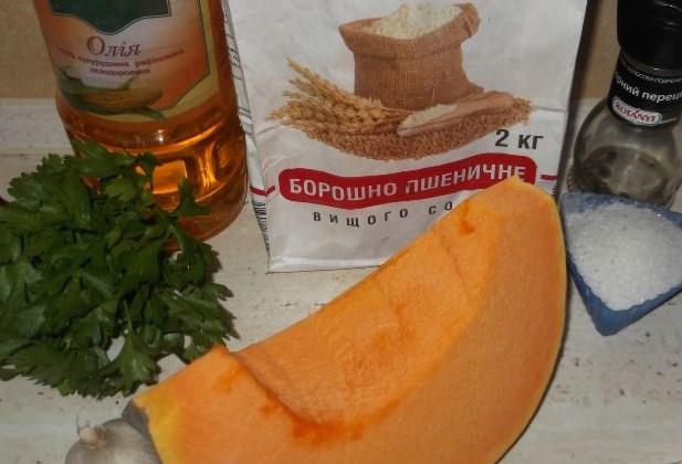 Рецепт Тыква жареная с чесноком