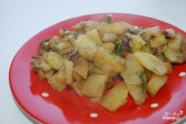 Гарнир из картошки в мультиварке