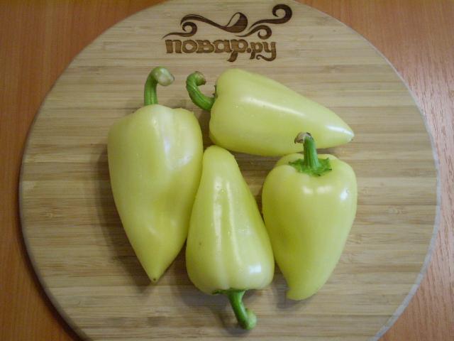 Рецепт Болгарский перец на зиму