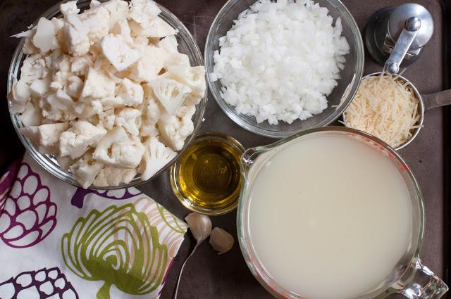 Рецепт Суп-пюре из цветной капусты с сыром