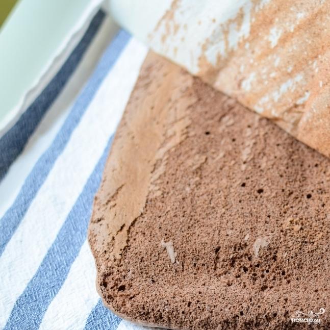Шоколадный рулет - фото шаг 10
