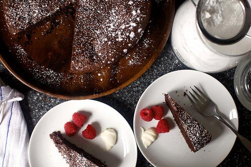 Вкусный французский шоколадный торт - фото шаг 9