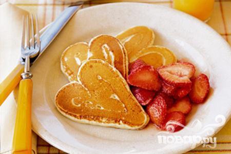 Рецепт Блины-сердечки