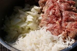 Рецепт Ёжики из фарша с рисом