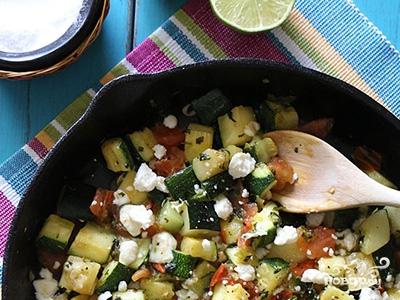 Рецепт Кабачки по-мексикански