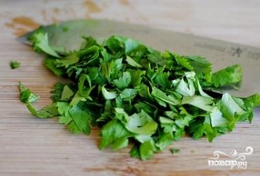 Постный салат из капусты - фото шаг 4