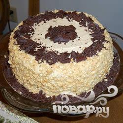 Рецепт Арахисовый шоколадный торт