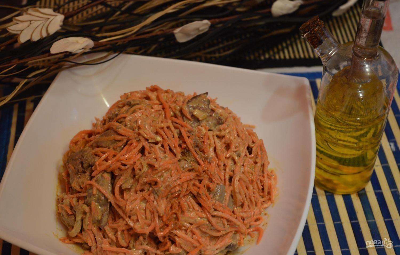 салат с морковкой по корейски и апельсином рецепт