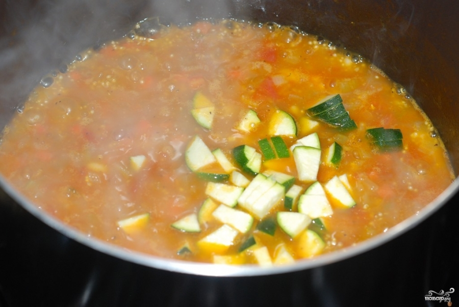 Суп с киноа - фото шаг 3