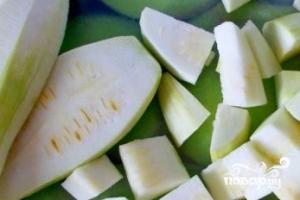 Картофель тушеный с кабачками - фото шаг 2