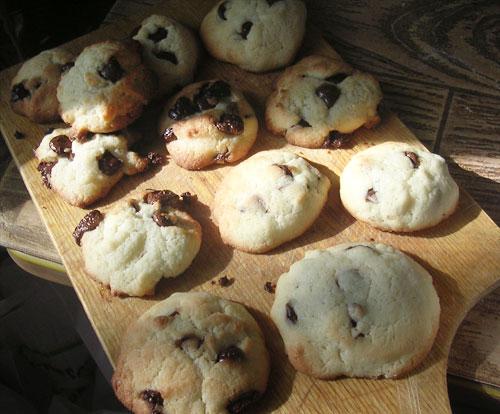 Печенье с шоколадными кусочками - фото шаг 3