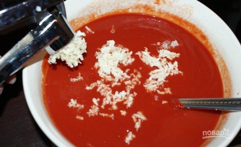 Как сделать соус для шашлыка из томатной пасты с зеленью