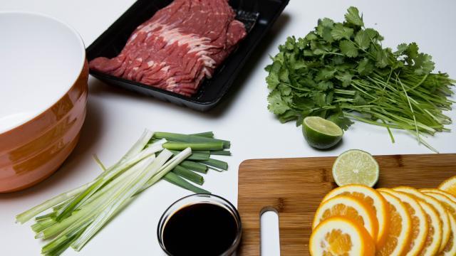 Карне асада из говядины - фото шаг 1