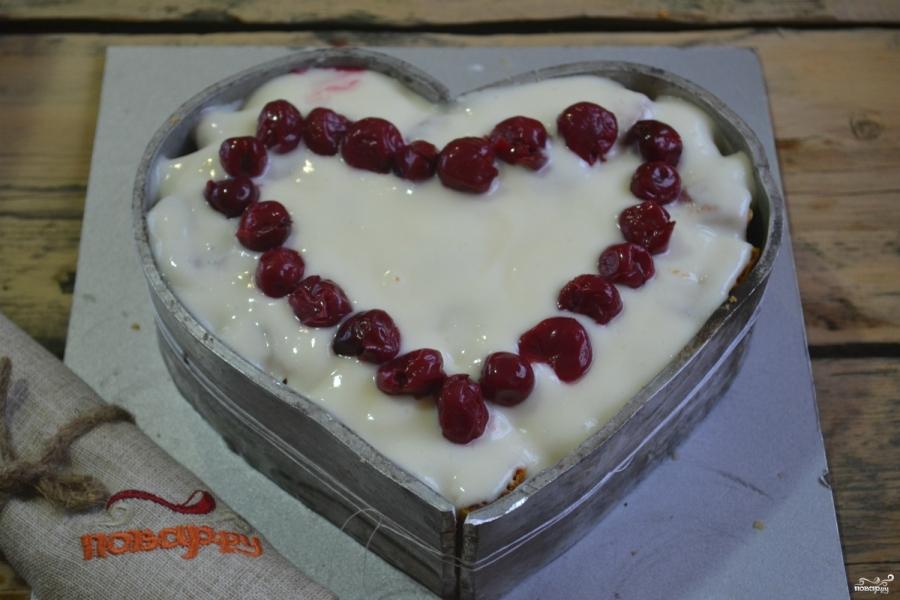 """Торт """"Сердце"""" - фото шаг 13"""