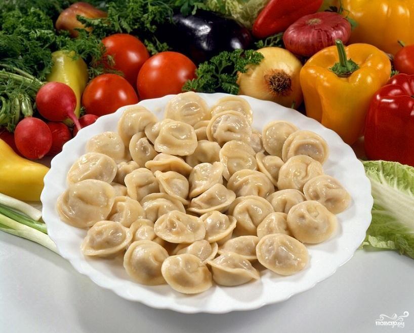 Рецепт Пельмени с квашеной капустой
