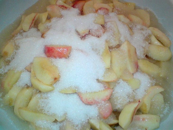 Рецепт Варенье из зеленых персиков