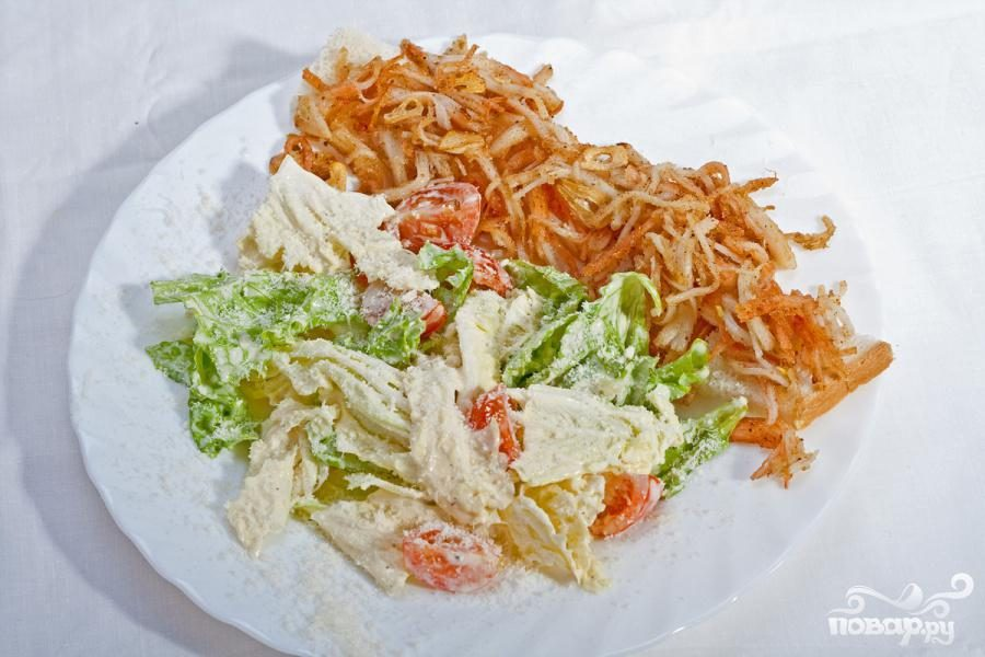 Крабовая закуска и салат