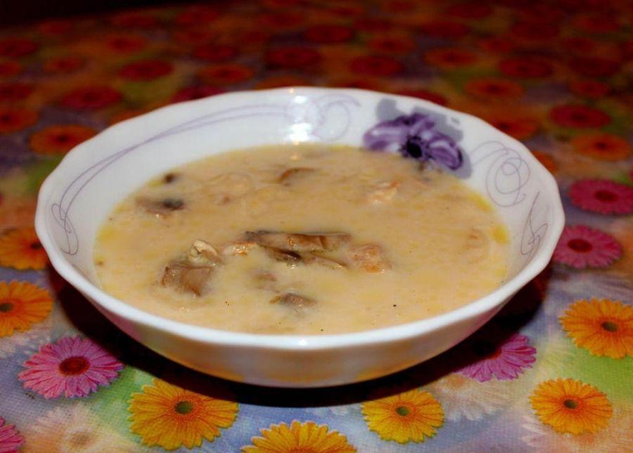 Куриный сырный суп - фото шаг 4