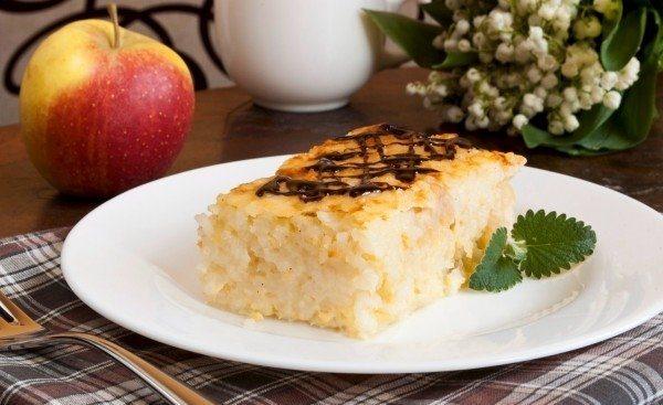 Рисовый пудинг с яблоками - фото шаг 7