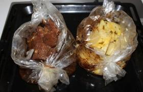 Говядина в рукаве с картошкой - фото шаг 7