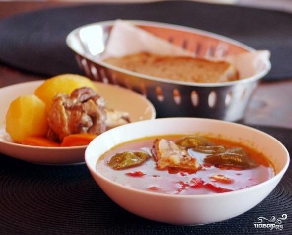 Суп шурпе чувашский